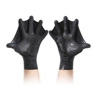Darkfin Webbed Gloves?..cool swim gloves !