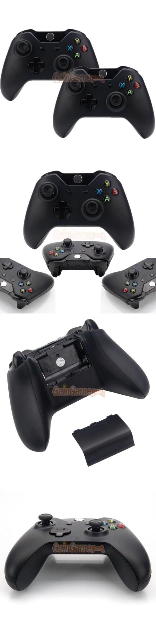 Video Gaming: 2X New Wireless Game Controller For Microsoft Xbox One Usa Seller Free Shipping BUY IT NOW ONLY: $52.99