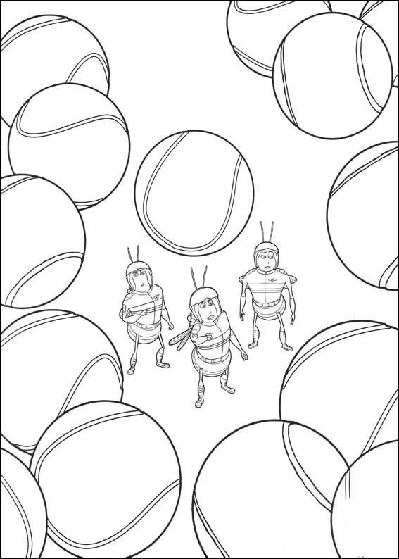 Bee Movie Coloring Page 7 Is A From BookLet Your Children Express Their Imagination When They Color The