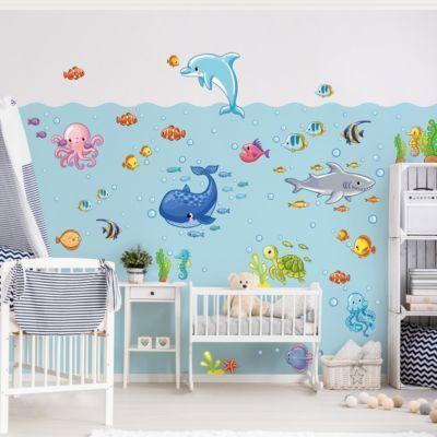 Wandtattoo Kinderzimmer Unterwasserwelt - Fisch Set 30x45-0.00 Jetzt bestellen unter: https://moebel.ladendirekt.de/dekoration/wandtattoos/wandtattoos/?uid=cc883b2a-2d28-5a4a-8d09-70d1ff863ddf&utm_source=pinterest&utm_medium=pin&utm_campaign=boards #tattoos #tapeten #farben #dekoration