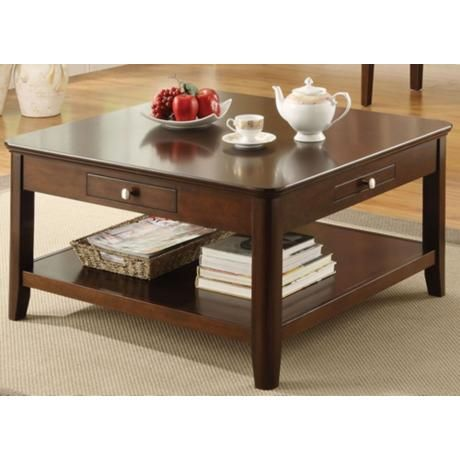 Adam square walnut coffee table 2k185 for Table 6a of gstr 1
