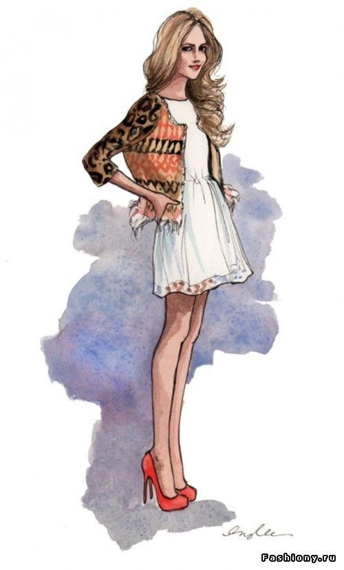 Inslee Haynes--My fashion illustration idol!