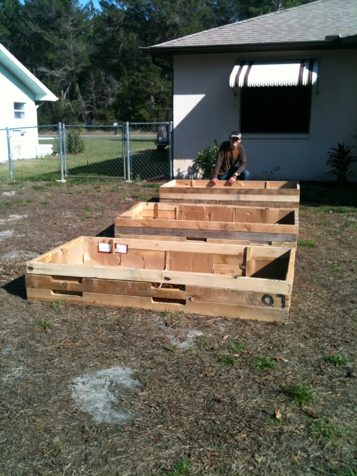 Lining Raised Garden Beds With Cardboard