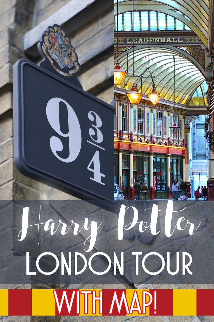 Harry Potter London tour - all locations, with map!