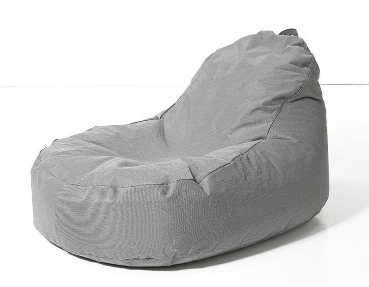 Extra grote zitzak van Sit & Joy voor een flexibel comfort. Heerlijk lekker neerploffen in de tuin of woonkamer.