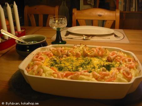 Recept - Sjötunga Walewska och pommes duchesse
