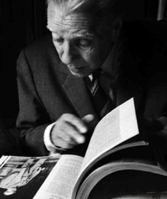 Borges todo el año: Jorge Luis Borges: El taller del escritor (1979) - Imagen en portada de la reedición de Borges, libros y lecturas, libro de Laura Rosato y Germán Álvarez