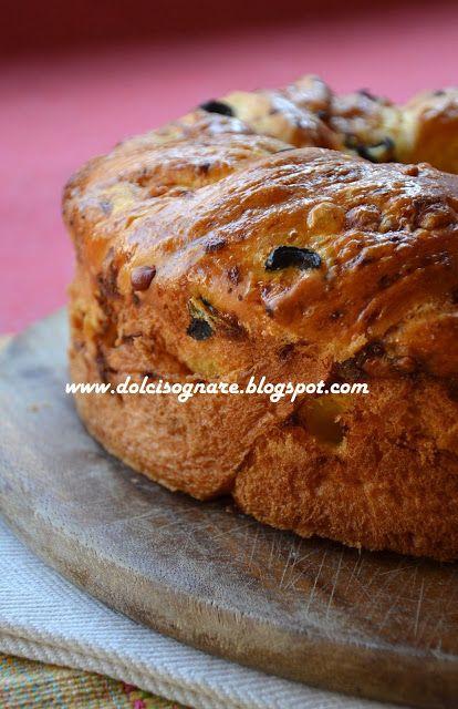 """DOLCISOGNARE: Ciambella """"angelicata"""" alle olive, gruyère e zaffe..."""