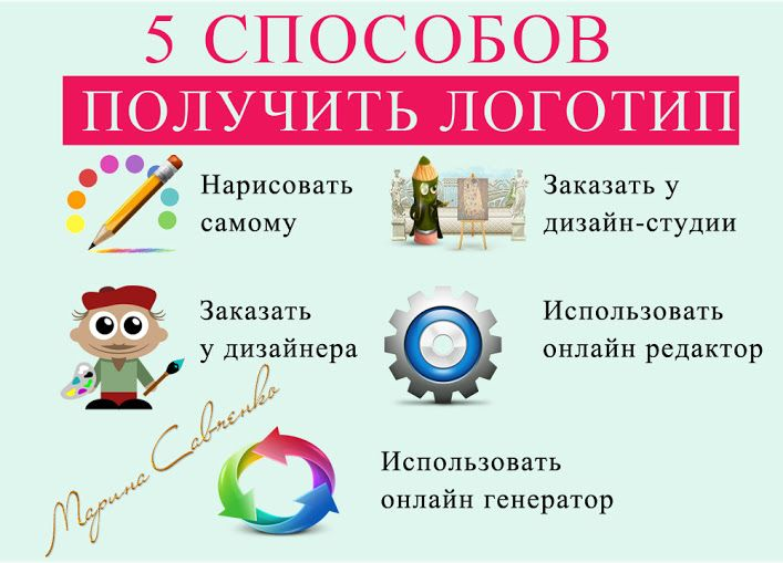 ЕЩЕ 5 СПОСОБОВ, Как получить ЛОГОТИП для Вашего блога  Не пропустите следующие советы в картинках....