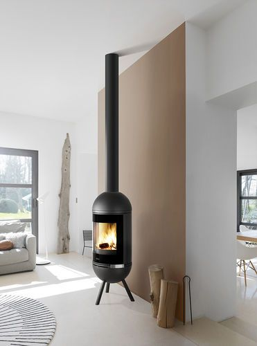 28 best images about kamin on pinterest cornwall stove for Holzofen modern