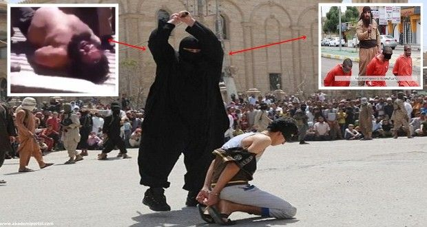 Flattened Terrifying 20st ISIS executioner dubbed Bulldozer captured Syrian army dumped half naked truck