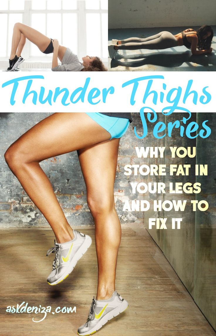 Why do women store most of their body fat in their lower body? How can we decrease fat in our legs naturally? These tips will help you achieve the lean legs you always wanted! @askdeniza