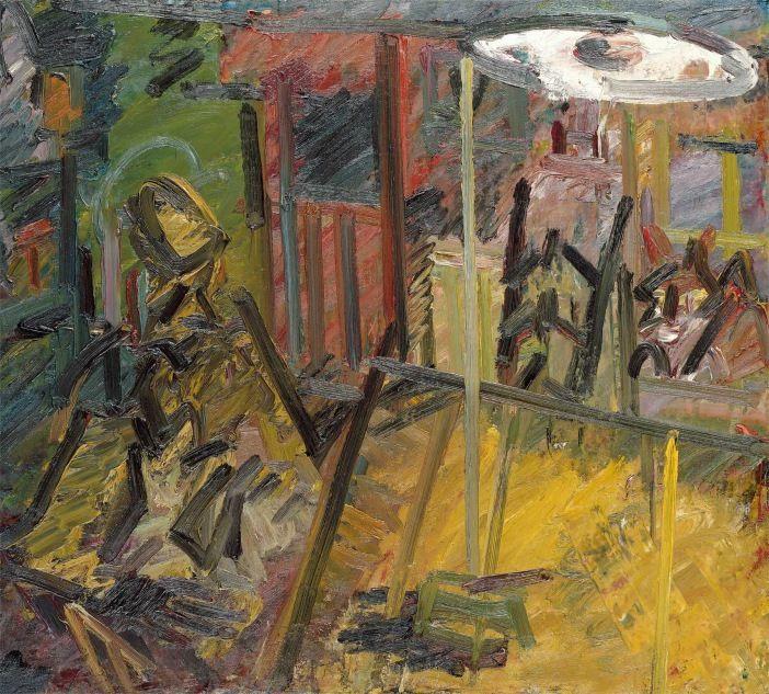 Frank Auerbach Interior Vincent Terrace 1982-84