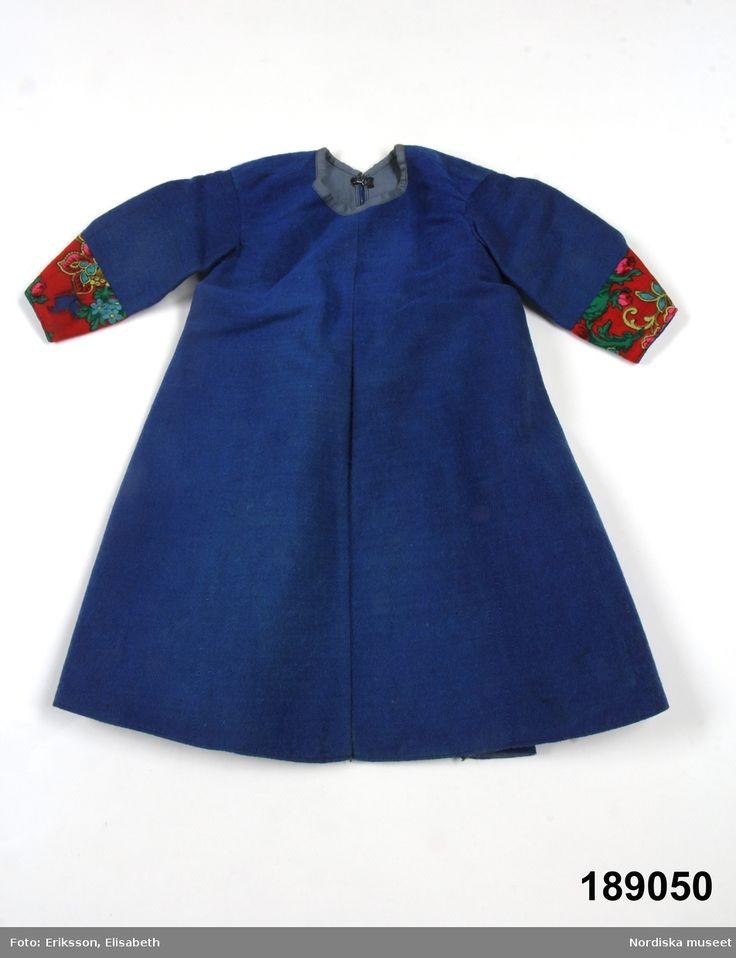 Kolt för pojke, av klarblå yllekypert. Dala-Floda.