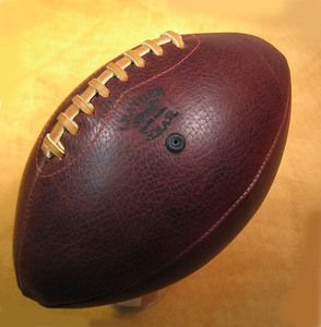 How to Make a Football by Hand: The LEATHER HEAD SPORTS Football Giveaway