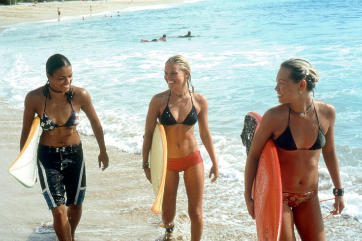 Surfer Girl Style From the Vogue Archives - Vogue. Michelle Rodriguez, Kate Bosworth, and Sanoe Lake in Blue Crush (2002)