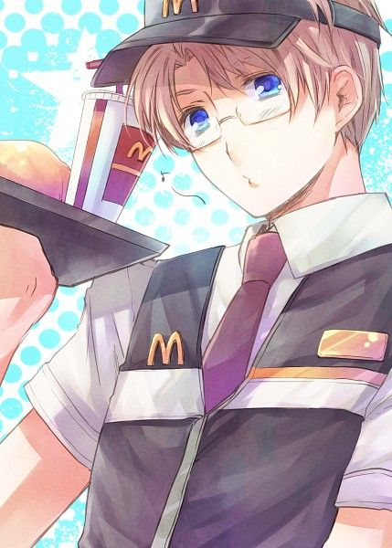 Look at that!My Mea-ALFRED WHAT ARE YOU DOING HERE!Ooh my fries!Thanks!(that's actually probably what I'd do...Crytalz!Stop getting distracted by food!)