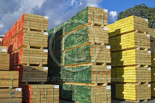 Dressed and stacked Radiata Pine (pinus radiata) at the Caboolture saw mill, owned and operated by CHH Wood Products in Queensland, Australia. For image licensing enquiries, please feel welcome to contact me at derekwalker73@bigpond.com  Cheers :)