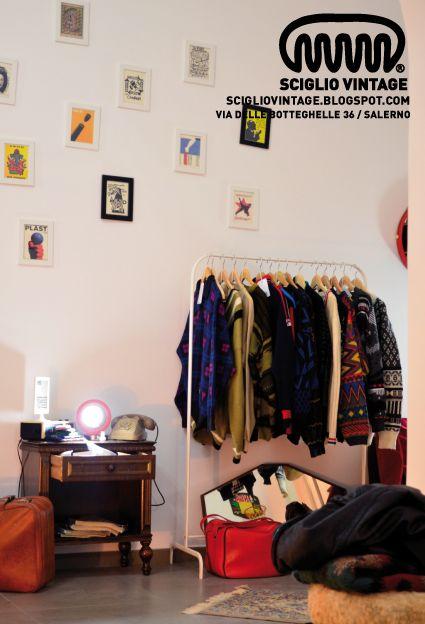 Sciglio Vintage shop Via delle Botteghelle, 36 / Salerno http://scigliovintagezone.blogspot.it/