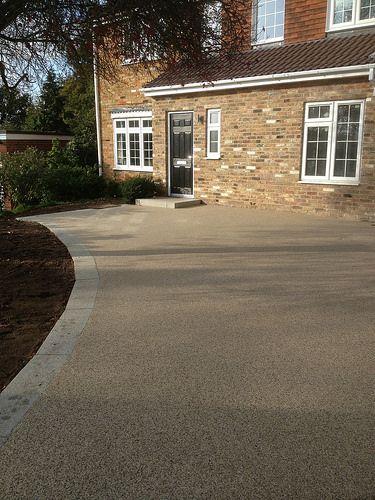 Clearmac® resin bound driveway