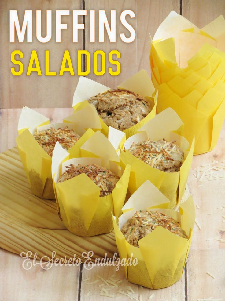 MUFFINS Salados (Jamón Dulce & Queso)
