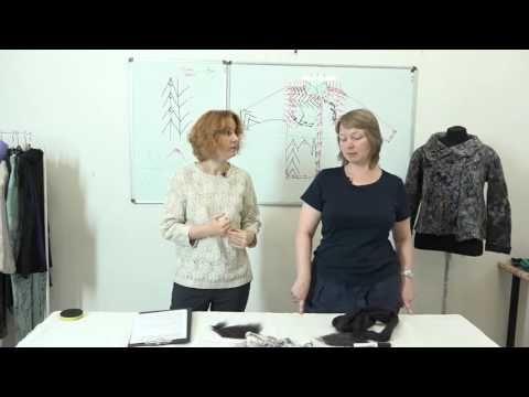 Курс Светланы Болюх. Войлок для одежды - YouTube