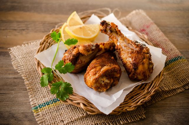 tandoori chicken: recipe here