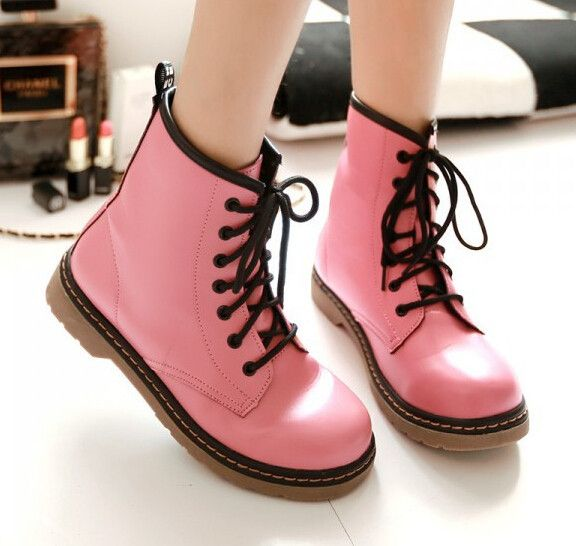 """Fashion students martin boots CuteKawaiiHarajukuFashionClothing&AccessoriesWebsite.SponsorshipReview&AffiliateProgramopening! another boots who can resist this sweet boots? I just can't, they are so adorable, and now you can have it on these great boots, use this coupon code """"cute8"""" to get all 10% off shop now for lowest price"""