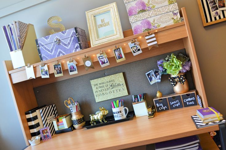 Tons of ideas and inspiration to make create an awesome dorm!                                                                                                                                                      More