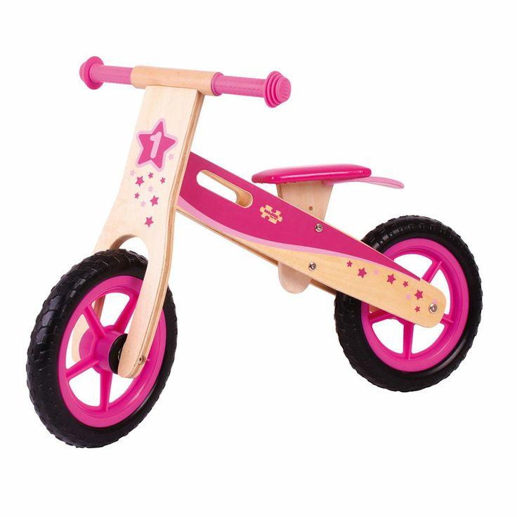 Bigjigs toys, Drewniany Rowerek Biegowy