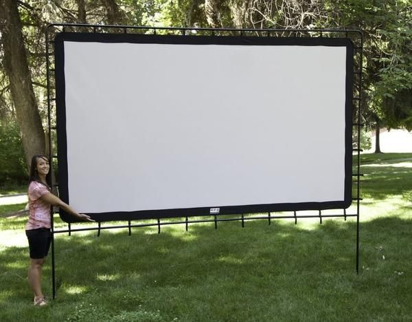 Portable Giant Outdoor Movie Screen Woldbox Outdoor Movie Outdoor Movie Screen Movie Screen