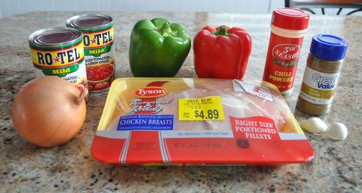 crock pot freezer meals, chicken fajitas 21 day fix approved
