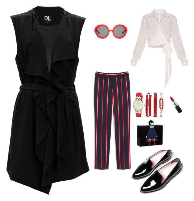 """""""Hotties casual"""" by bintangghaisani on Polyvore featuring SUGAR LIPS, Mulberry, Everlane, Lulu Guinness, Preen, MAC Cosmetics and Anne Klein"""