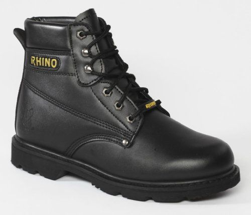 60s21 Rhino 6 inch Steel Toe Safety Work Boot Review - Work Wear