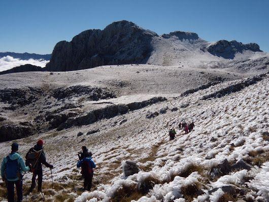 Vardousia Mountain -  KORAKAS PEAK 2495m -