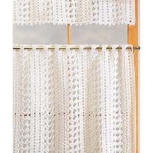 Cafe Curtains Crochet Yarn Kit- can't get easier than to buy a kit, and so pretty!