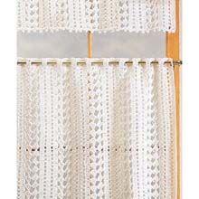 Cafe Curtains Crochet Yarn Kit