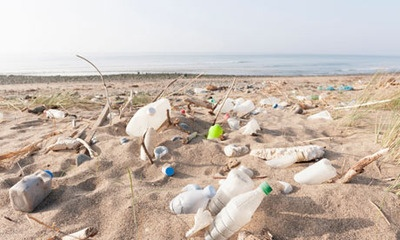 Plastic retrieved from the sea to be made into bottles in pioneering recycling scheme |  Guardian.co.uk    Ecover, the green cleaning brand, said on Thursday it will use plastic waste retrieved from the sea to create an entirely new type of sustainable and recyclable plastic bottle.  The Belgian company is working with plastic manufacturer Logoplaste to combine plastic trawled from the sea with a plastic made from sugar cane ('Plant-astic') and recycled plastic, in what it is calling a