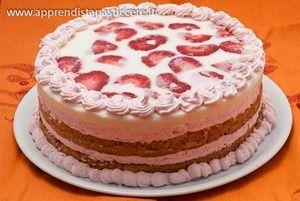Torta Giardino di Fragole di Luca Montersino   semifreddial cucchiaio