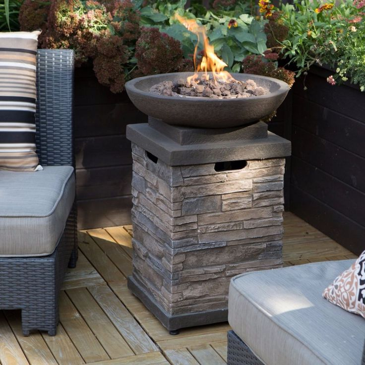 17 Best Ideas About Gas Fire Pit Table On Pinterest Gas Fire Table Outdoor