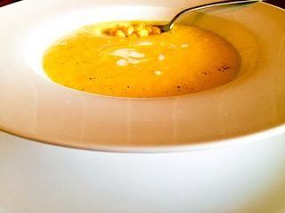 Кукурузный  чаудер. Солнечный, летний суп