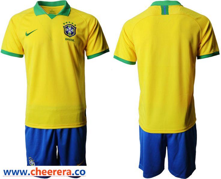201920 brazil home soccer jersey soccer jersey mens
