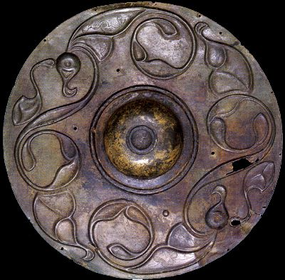 """Wandsworth"" shield, Ireland 2nd century b.c."