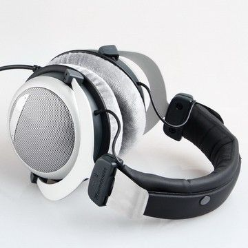 beyerdynamic DT 880 Premium 600 OHM Headphones DT880, platinum semi open headphones, it combines the advantage of open and closed headphones.