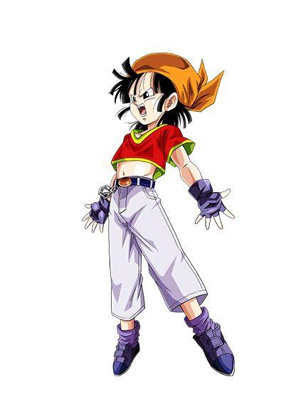 Pan (パン) es la hija de Videl y Gohan, siendo sus abuelos paternos Goku y Chi-Chi y sus abuelos maternos el campeón Mr. Satán y la fallecida cantante Miguel. La herencia de Pan es principalmente terrícola, siendo la descendencia del híbrido Saiyajin-Humano terrícola de su padre Gohan y el Humano terrícola de su madre Videl, lo que la hace 1/4 Saiyajin. El nombre de Pan puede dar su origen por tres razones, siendo la primera del alimento básico elaborado con harina de trigo y la levadura d...