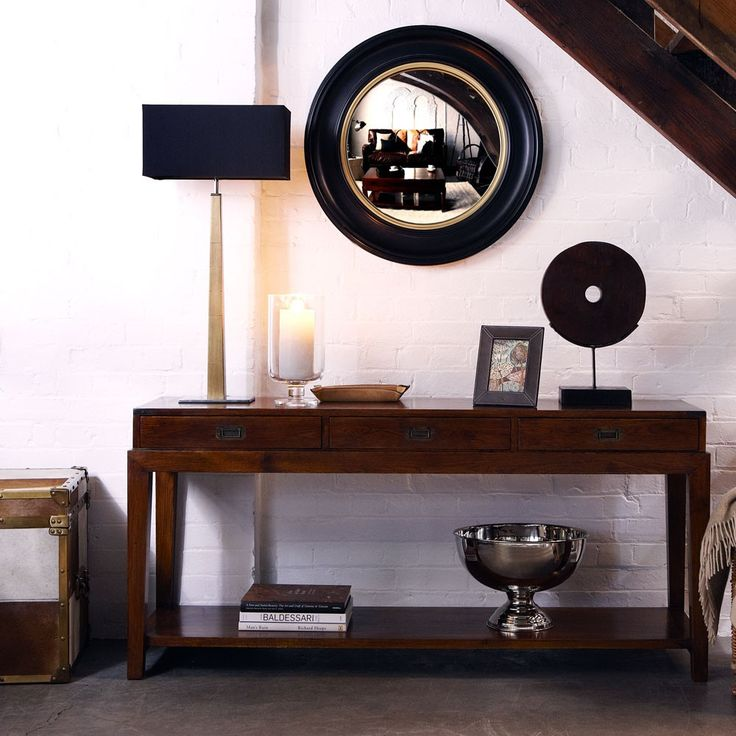 Deknudt Convex Large Mirror