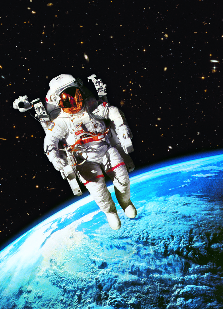 eurographics astronaut 1000 piece puzzle experience the ultimate freedom of an astronaut as you - 1000 Free Prints