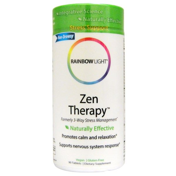 Rainbow Light, Zen Therapy, 90 Tablets  #stress #formula #support #balance #management #iherb #thingstobuy #shopping #relief