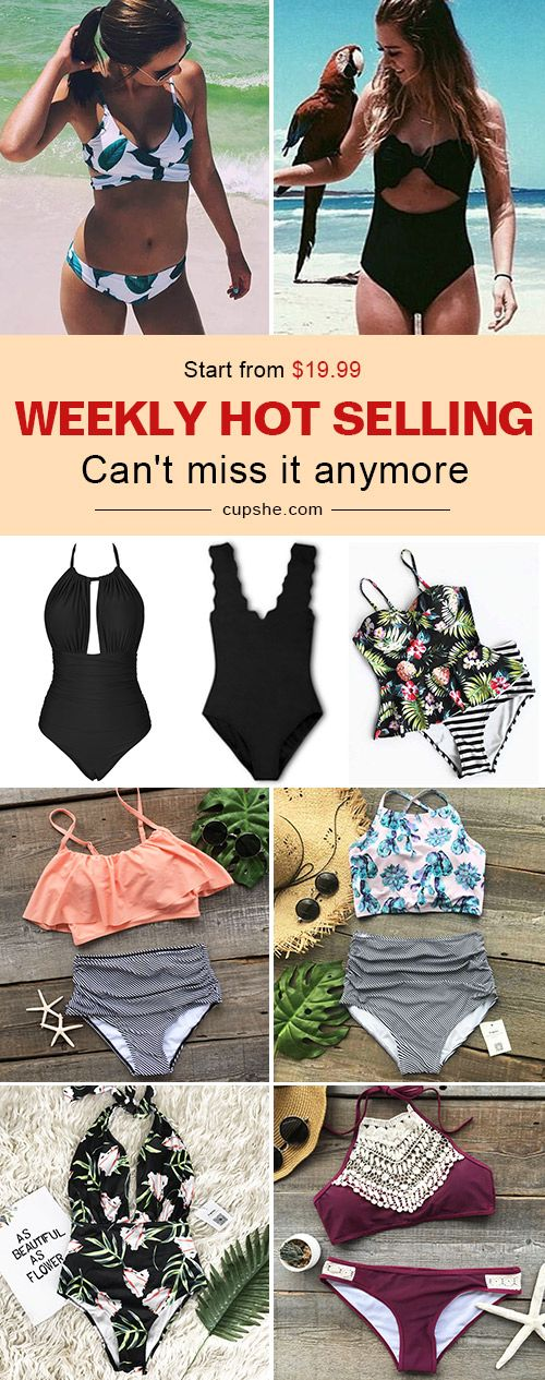 Best weekly swimwear here! You will want to pull it out of your closet to next beach trip. Take it now at Cupshe.com!