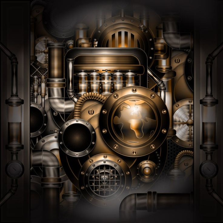 Ring In The Steampunk Decor To Pimp Up Your Home: Steampunk - Bing Images